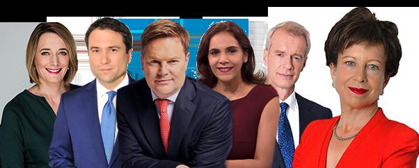 BBC World News Presenters